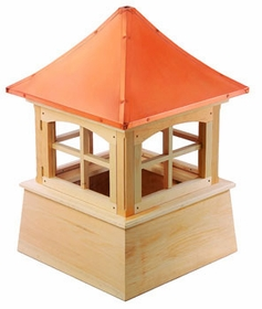 "Wood Windsor Cupola 42"" Sq X 61"" H"