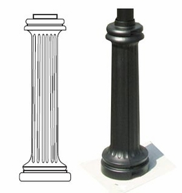 WRB1 Sign Pole Decorative Bases - Classic Series - 3 inch Wrap Around
