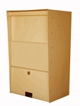 X-Large Wall-Mount Aluminum Drop Box/Letter Locker