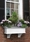 Yorkshire Window Flower Box, White - 3FT