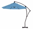 9' Cantilever Market Umbrella with Tilt and Olefin Pacific Blue