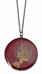 Apache Rhubarb LG Round Necklace