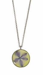 "Hydrangea 16"" Adj. Medium Round Necklace"