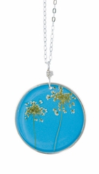 "Laceflower Belize Breeze 16"" Lg Rd. Necklace"