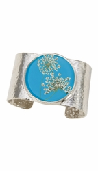 Laceflower Belize Breeze Lg. Rd. Cuff Bracelet