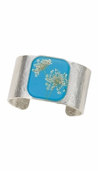Laceflower Belize Breeze Lg Sq. Cuff Bracelet