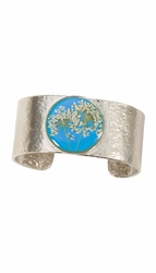 Laceflower Belize Breeze Med Rd. Cuff Bracelet