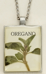 Oregano Seed Pack Pendant Necklace