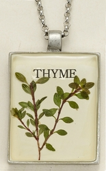 Thyme Seed Pack Pendant Necklace