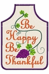 Be Thankful Wine Apron