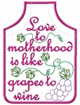 Mothers Day Wine Apron