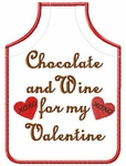 Valentine Bottle Apron