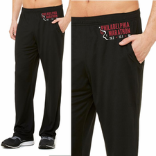 Philadelphia Marathon: 'Event Logo' Men's Mesh Pants - Navy - by ALL SPORT®