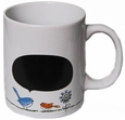 Ceramic Blackboard Mug by Ganz