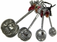 Count Your Blessings Measuring Spoons 4 pc Set by Ganz