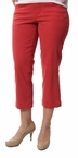 Felicia Crop in Rouge Red by Jag Jeans