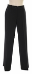 Fit & Flare Pant in Black by N-Touch