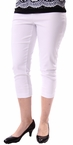 Flatten It Capri in White by Tribal