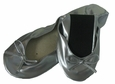 Foldable Flats in Silver by Ganz