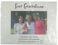 Four Generations Picture Frame by Ganz