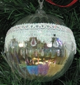 Iridescent Glass Ball Ornament by Ganz