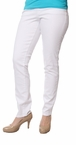 Malia Slim in White by Jag Jeans