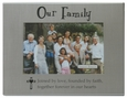 Our Family 4x6 Frame by Ganz
