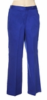Petite Proportioned Medium Pant in Cobalt by Alfred Dunner Petite