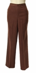 Proportioned Medium Pant in Brown by Alfred Dunner
