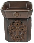 Radiant Fragrance Warmer in Glory Aged Rust by tyler Candle Company