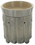 Radiant Frangrance Warmer in Orante Platinum by Tyler Candle Company