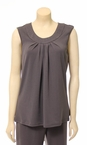 Sleeveless Top in Grey by N Touch