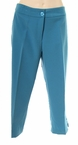 Slim Crop Pant in Real Teal by N-Touch