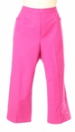 Solid Embroidered Capri in Fuchsia by Alfred Dunner