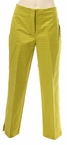 Zip Front Pant Clean Waist in Lime by Tribal