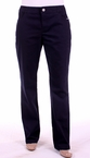 Zip Front Pant with Pockets in Eclipse Blue by Tribal