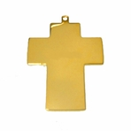 Gold Cross Necklace Pendant