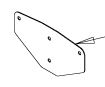Hopper Retainer, TGSUV Spreaders, SaltDogg P/N 3015788