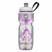 Mudderella 20 oz. Insulated Water Bottle - White/Purple