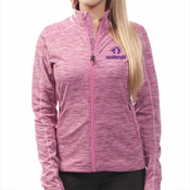 Mudderella Atlantis Full Zip Jacket - Mulberry