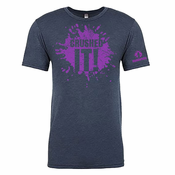 Mudderella 'Crushed It' Triblend Tee - Indigo