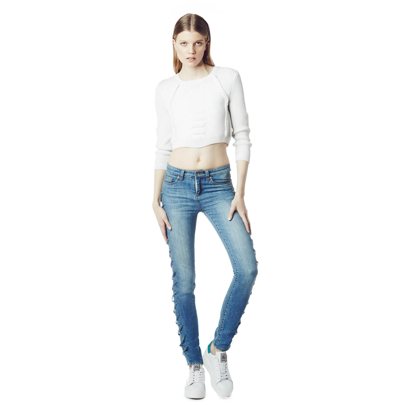 Ash Studio Paris  Angelz Denim Jeans 265002 (400)