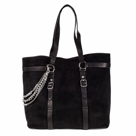 Ash Axel Womens Tote Black Leather  124016 (001)