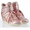 Ash  Beck Womens Wedge Sneaker Rame Iridescent  Leather 340071 (288)