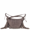 Ash Bo Womens Crossbody Grey Leather  124008 (020)