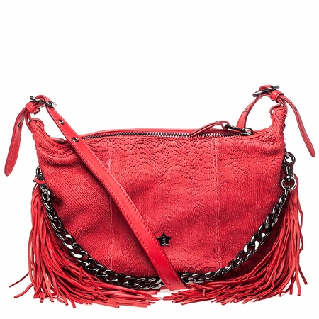 Ash Bo Womens Crossbody Handbag Red Leather  124008 (600)
