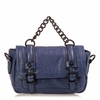 Ash Britt Womens Clutch Cadet Blue Leather 124121 (471)