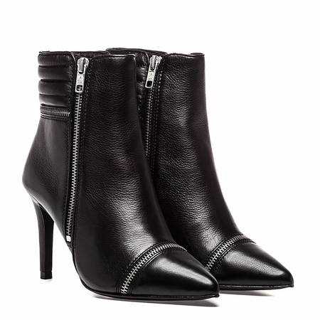 """<font size=""""2"""" color=""""red"""">NEW</font><p>Ash Cara Womens Boot Black Leather 350448 (001)"""