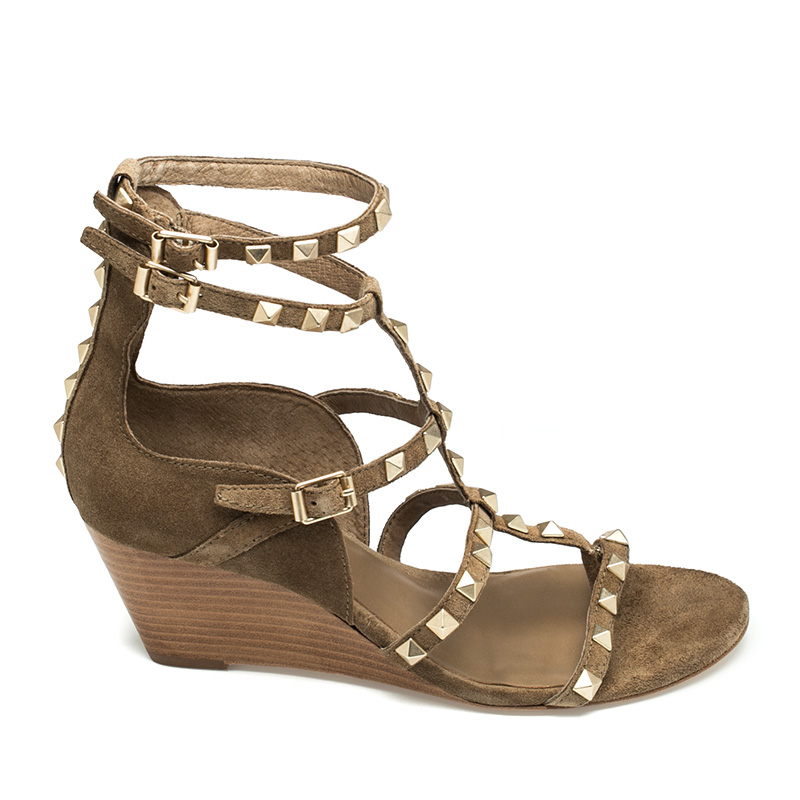 Ash Dafne Womens Wilde Leather Wedge Sandal  360206 (278)