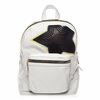 Ash Danica Star Womens Medium Backpack Off White Multi Perforated Leather  125032 (103)